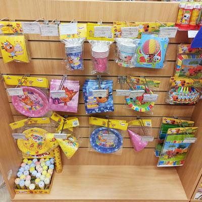 Товары для праздника в магазине Волшебник на Копылова