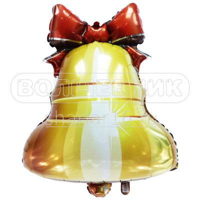Фигура фольгированная на выпускной - Колокольчик с ленточкой #1702-02 купить в Казани