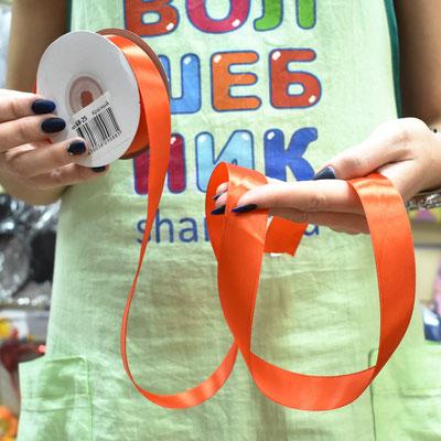 Атласные ленты в катушках - купить в Казани