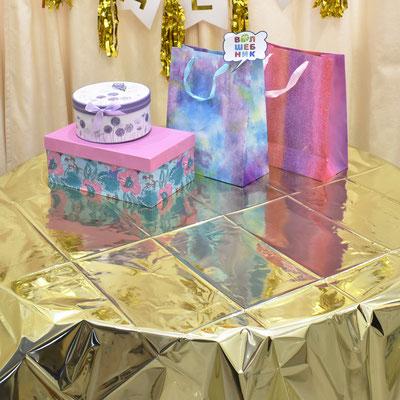 Украшение помещения для дня рождения в золотом стиле - купить в Казани