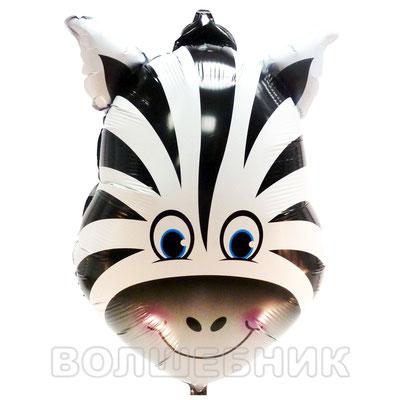 Фигура FALALI Голова зебры, размеры: 45*65 см, купить в Казани