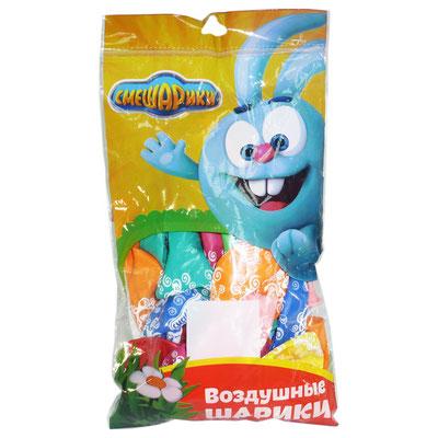 Воздушные шары Belbal (Белбал) с рисунком, в пачке, купить в Казани