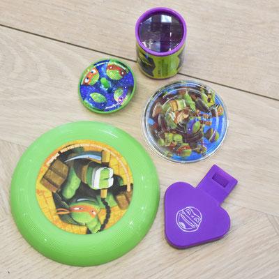 Комплект игровых предметов из коллекции товаров Черепашки Ниндзя - купить в Казани