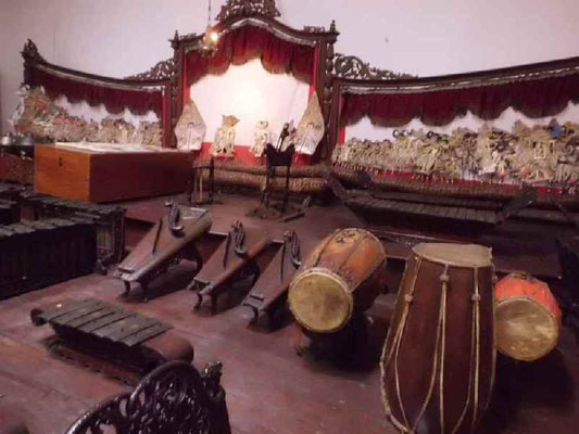 ワヤンの楽器