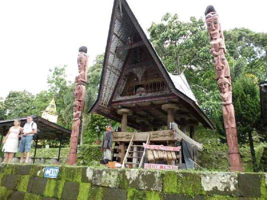 バタック人の村