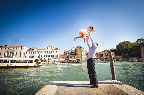 fotografo famiglia venezia