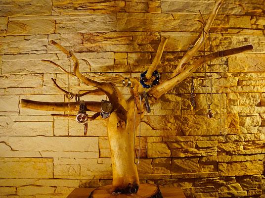 Schmuckständer Holz Wurzelholz