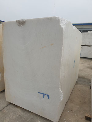 Vietnam White Marble Block DIAMOND WHITE