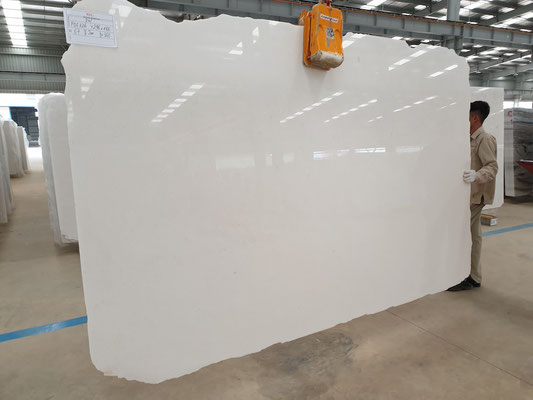 Vietnam White Marble Slabs DIAMOND WHITE