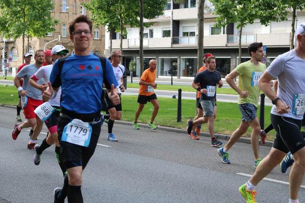 Dämmermarathon Mannheim (04.06.2017)