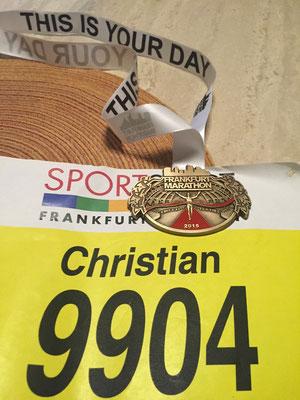 34. Frankfurt Marathon (25.10.2015)