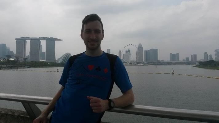 Marina Run Singapur (14.02.2015)