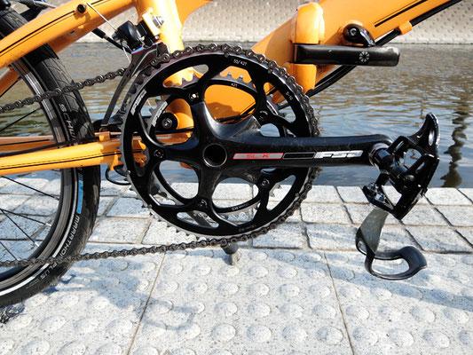 ミニベロ カスタム - 秘密の自転車工房 - 走りを極める