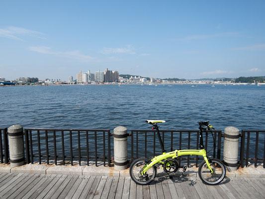 太平洋岸自転車道 - 湘南海岸 - 砂浜の道 - 江ノ島オリンピック公園