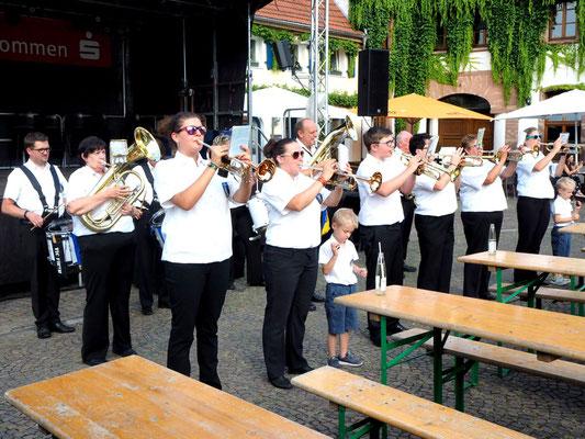 Einmarsch des Musikzuges Gersweiler