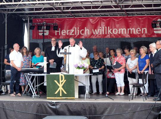 37. Daarler Dorffest: Nicht nur durch das Wetter gesegnet