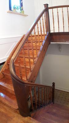 Treppenaufgang zur 2. Etage