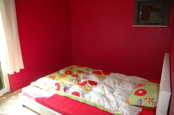 """Gästezimmer für zwei Personen in der Unterkunft """"Das Haus am Hang"""" in Schwäbisch Hall"""