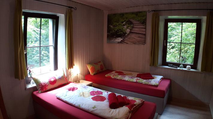 als Zweibettzimmer