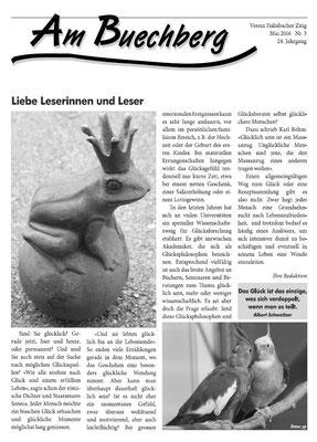 Fislisbacher Dorfzeitung