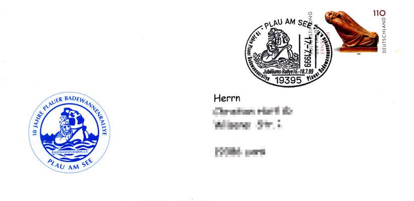 Jubiläums Poststempel