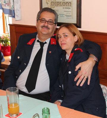 Kameradschaftsführer mit Tochter