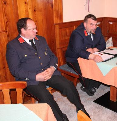 Kommandant und Stellvertreter