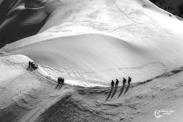 Randonneurs Mont-Blanc