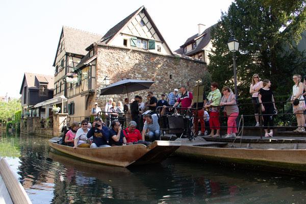 Visite de Colmar en barque