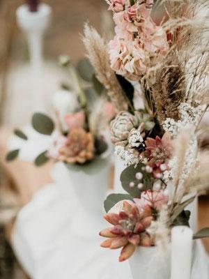 décoration table champêtre mariage var