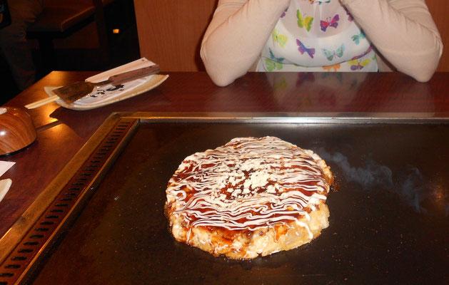 Okonomiyaki de Osaka