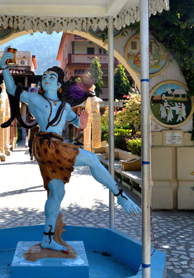 Dancing Shiva en Rishikesh