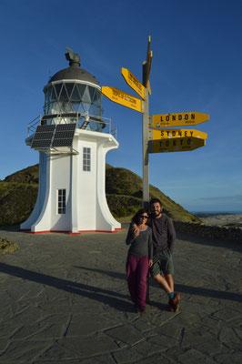 Foto en Nueva Zelanda, Cap Reinga.
