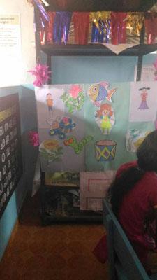 escuela de Kovalam, Kerala, India