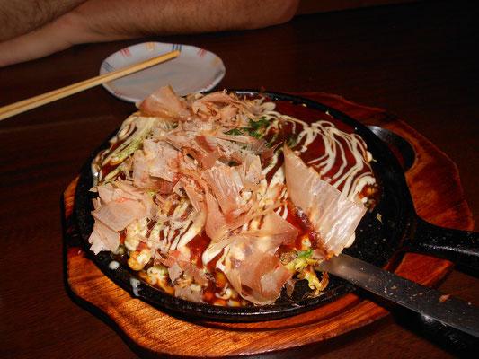 Okonomiyaki de Kioto