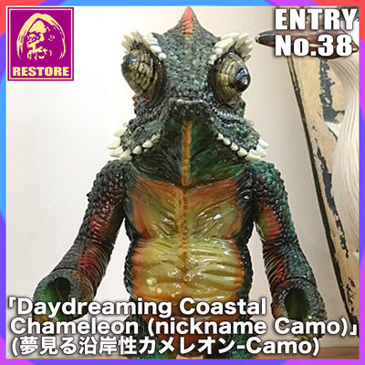 夢見る沿岸性カメレオン-Camo / Daydreaming Coastal chameleon (nickname Camo)