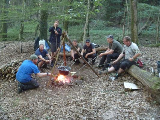 Lagerleben Wildnis Survival