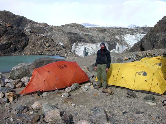 Camp Patagonien Inlandeis Wildnis