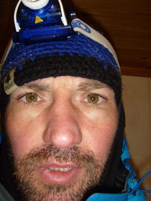 Völlig fertig - nach der Tour Norwegen Winter