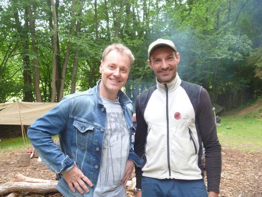 Stefan Pinnow bei Wildnistraining Westerwald 2
