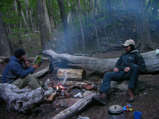 Camp Patagonien  Wildnis