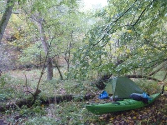 Paddeln im Herbst -  Lahn von Cölbe bis Lahnstein in 5 Tagen