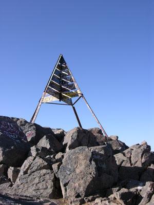 Gipfel Djebel Toubkal