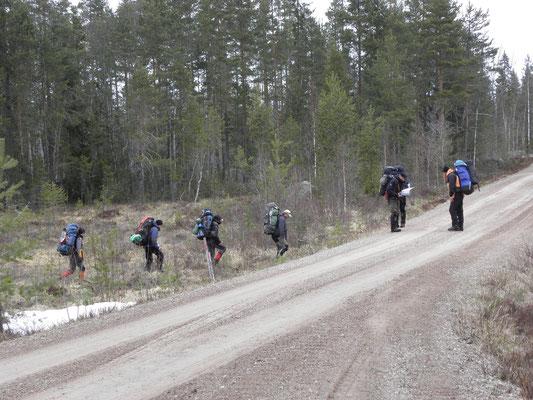 Mittelschweden Wildnistraining