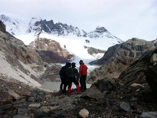 Seilschaft Patagonisches Inlandeis