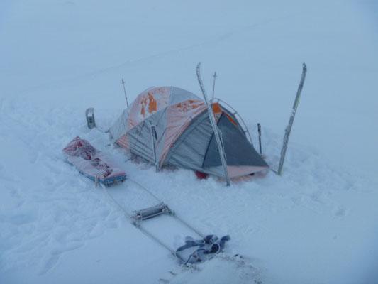 Norwegen Hardangervidda Solo im Winter