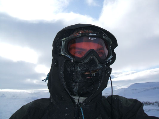 Lappland im Winter