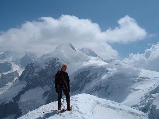 Gipfel Pollux im Wallis