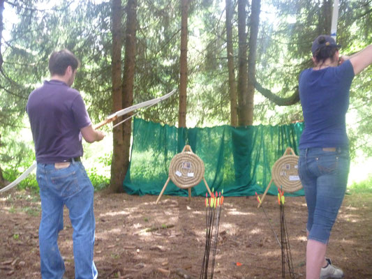 Bogenschießen - Outdoortraining Teil 2