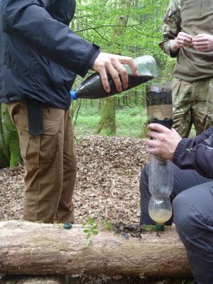 Wasserfilterbau Survival